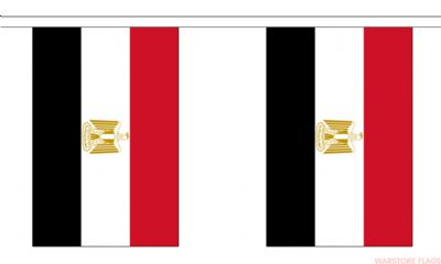 EGYPT BUNTING - 3 METRES 10 FLAGS